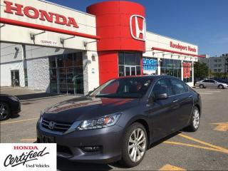 Used 2015 Honda Accord Sedan Touring, awesome shape and mileage for sale in Scarborough, ON
