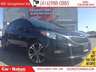 Used 2014 Kia Forte 2.0L EX | 6 SPEED | BACK UP CAM | ALLOYS | for sale in Georgetown, ON