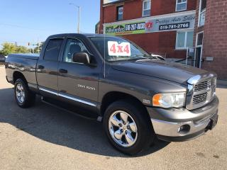 Used 2004 Dodge Ram 1500 LARAMIE 5.7L HEMI - 4X4 - SAFETY/WARRANTY INCLUDED for sale in Cambridge, ON
