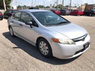 Used 2007 Honda Civic DX-G/NO ACCIDENT/SAFETY/WARRANTY INCLUDED for sale in Cambridge, ON