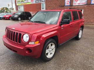 Used 2010 Jeep Patriot North - LOW KMS - SAFETY & WARRANTY INCLUDED for sale in Cambridge, ON