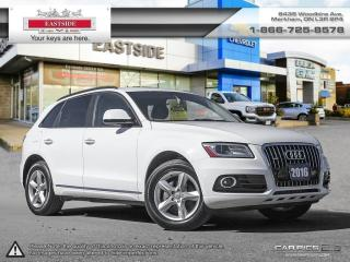 Used 2016 Audi Q5 INTEREST RATE AS LOW AS 0.9% for sale in Markham, ON