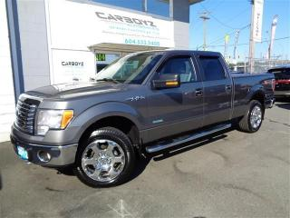 Used 2012 Ford F-150 XLT XTR Crew 4x4, 6.5 Ft. Box, Eco-Boost for sale in Langley, BC