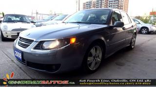 Used 2008 Saab 9-5 Aero| NO ACCIDENT | LEATHER | ALLOY | HEATED | CER for sale in Oakville, ON