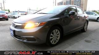 Used 2012 Honda Civic EX| NO ACCIDENT | SUNROOF | ALLOY  | BLUETOOTH for sale in Brampton, ON
