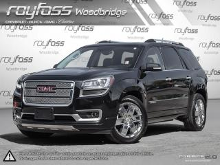 Used 2014 GMC Acadia Denali. Remote Start. Navigation.7 Passenger for sale in Woodbridge, ON