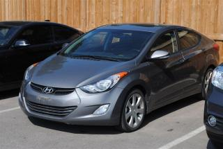 Used 2013 Hyundai Elantra GL LEATHER SUNROOF NAVIGATION for sale in Pickering, ON