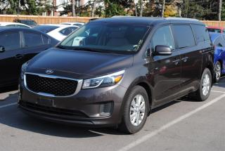 Used 2017 Kia Sedona LX BLUETOOTH HEATED SEATS REAR CAMERA for sale in Pickering, ON