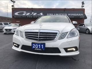 Used 2011 Mercedes-Benz E-Class E350 Blue TEC for sale in St Catharines, ON