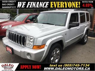 Used 2006 Jeep Commander Limited  for sale in Hamilton, ON