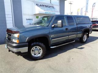 Used 2006 Chevrolet Silverado 2500 LT 4x4, Duramax Diesel, Ext. Cab, Extra Clean for sale in Langley, BC