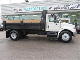Used 2007 International 4300 DT466 Pre - Emission 13 ft dump druck for sale in Richmond Hill, ON