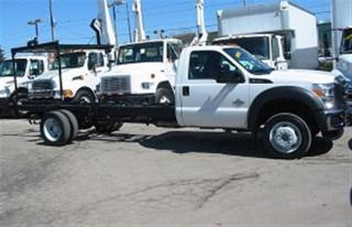 Used 2015 Ford F-550 Cab & Chassis 2wd diesel 201 inch wheel base for sale in Richmond Hill, ON