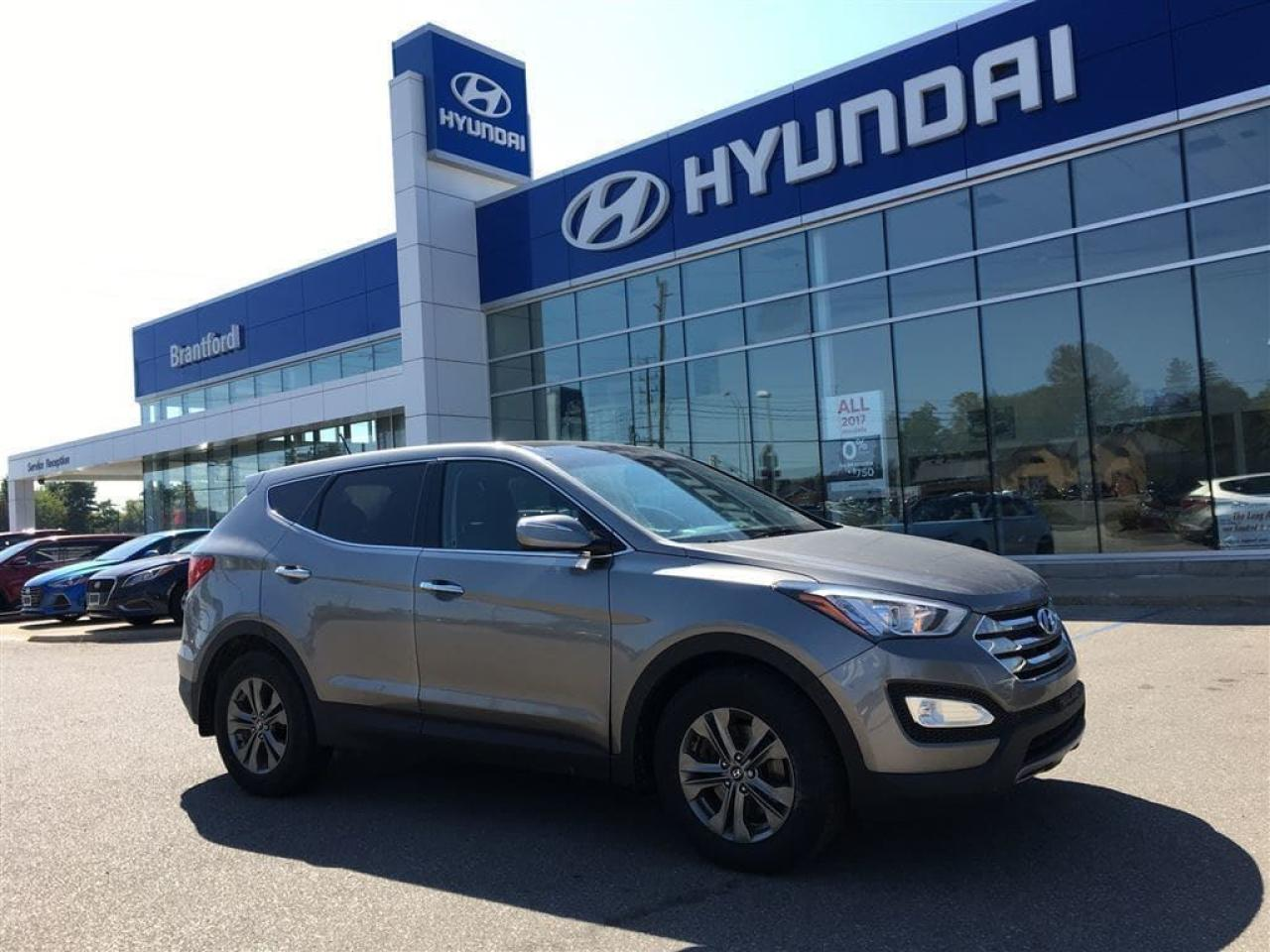 Photo of Gray 2014 Hyundai Santa Fe