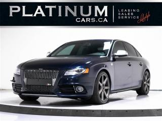 Used 2011 Audi S4 3.0T Quattro AWD, V6 333 HP, NAVI, Sunroof for sale in Toronto, ON