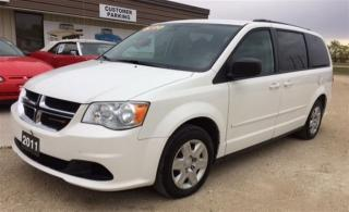 Used 2011 Dodge Grand Caravan SE/SXT for sale in Brunkild, MB