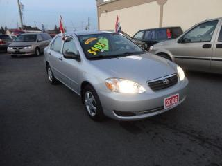Used 2006 Toyota Corolla LE for sale in Breslau, ON
