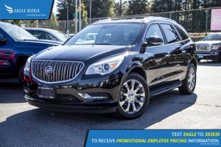 Used 2017 Buick Enclave Premium Navigation, Sunroof, and Heated Seats for sale in Port Coquitlam, BC