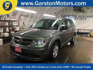 Used 2012 Dodge Journey KEYLESS ENTRY*DUAL ZONE CLIMATE CONTROL*PUSH BUTTON TO START*AM/FM/CD/AUX/USB*CRUISE CONTROL*TRACTION CONTROL* for sale in Cambridge, ON
