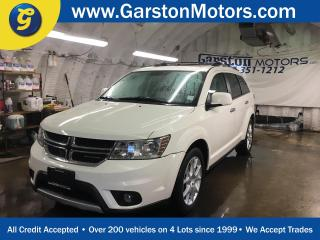 Used 2012 Dodge Journey R/T*AWD*LEATHER*POWER SUNROOF*7 PASSENGER W/REAR AIR*KEYLESS ENTRY w/REMOTE START*U CONNECT PHONE*3 WAY CLIMATE CONTROL*ALLOYS*ROOF RACK*POWER DRIVER for sale in Cambridge, ON