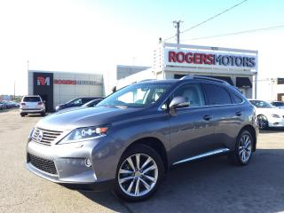 Used 2015 Lexus RX 450h AWD - NAVI - DUAL DVD - REVERSE CAM for sale in Oakville, ON