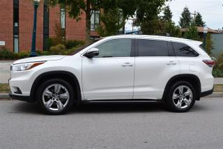 Used 2015 Toyota Highlander LIMITED 7 PASSENGER AWD for sale in Vancouver, BC