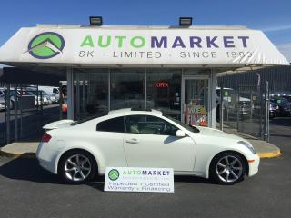 Used 2004 Infiniti G35 Coupe Leather FINANCE FOR ALL CREDIT! for sale in Langley, BC