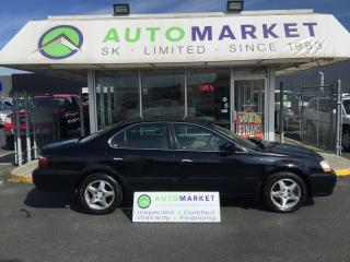 Used 2003 Acura TL 3.2TL leather! Sunroof! Finance it! for sale in Langley, BC