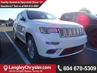 New 2018 Jeep Grand Cherokee Summit 4x4 for sale in Surrey, BC