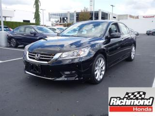 Used 2014 Honda Accord Touring! Honda Certified Extended Warranty to 120 for sale in Richmond, BC