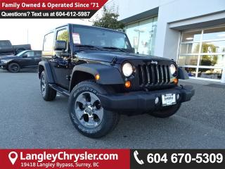 Used 2013 Jeep Wrangler Sport *ACCIDENT FREE*ONE OWNER*LOCAL BC JEEP* for sale in Surrey, BC