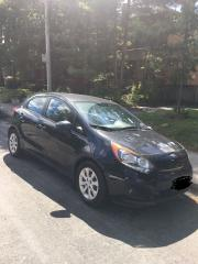 Used 2013 Kia Rio Silver for sale in Toronto, ON