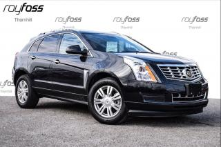Used 2014 Cadillac SRX Luxury AWD Navigation Ultraview roof Rear camera for sale in Thornhill, ON