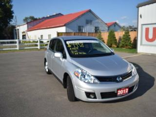 Used 2012 Nissan Versa 1.8 S 4DR HATCHBACK for sale in Brantford, ON
