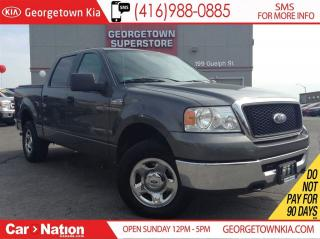 Used 2007 Ford F-150 XLT | 4.6L V8 | 4X4 | SUPERCREW | CLEAN CARPROOF for sale in Georgetown, ON