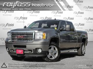Used 2013 GMC Sierra 2500 HD Denali. LEATHER.NAVIGATION.LOADED for sale in Woodbridge, ON