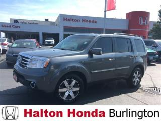 Used 2012 Honda Pilot TOURING|HEATED LEATER SEATS|REAR ENTERTAINMENT SYS for sale in Burlington, ON