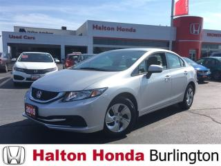 Used 2015 Honda Civic SEDAN LX for sale in Burlington, ON