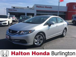 Used 2013 Honda Civic LX for sale in Burlington, ON