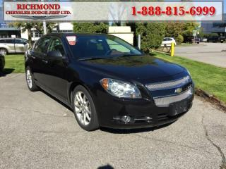 Used 2009 Chevrolet Malibu LTZ for sale in Richmond, BC
