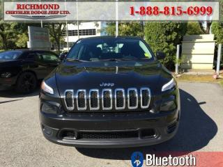 Used 2016 Jeep Cherokee Sport for sale in Richmond, BC