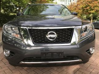 Used 2013 Nissan Pathfinder 7 PASSENGER,LOCAL,LEATHER,BACK UP CAMERA for sale in Vancouver, BC