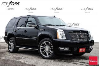 Used 2013 Cadillac Escalade Premium Nav Roof 22Whls for sale in Thornhill, ON