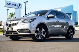Used 2015 Acura MDX at WOW Johnny-Acura Recommended Free Autograph Ses for sale in Thornhill, ON