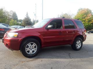 Used 2007 Ford Escape Limited for sale in Guelph, ON