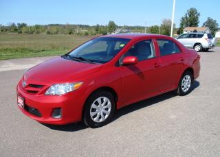 Used 2012 Toyota Corolla CE ENH CONV PKG for sale in Renfrew, ON