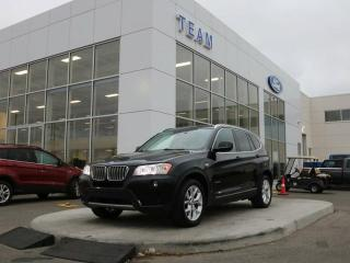 Used 2013 BMW X3 xDrive28i, 2.0L Turbo, Leather, AWD for sale in Edmonton, AB
