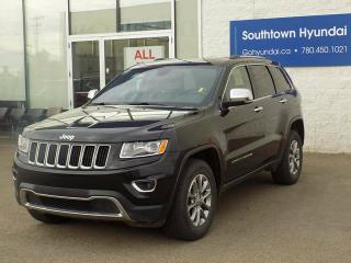 Used 2016 Jeep Grand Cherokee Limited for sale in Edmonton, AB