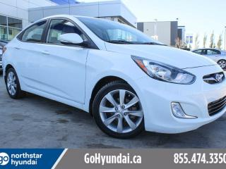 Used 2014 Hyundai Accent GLS SUNROOF/HEATED SEATS/ALLOYS for sale in Edmonton, AB