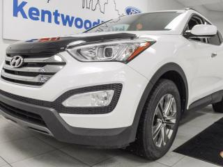 Used 2016 Hyundai Santa Fe Sport Sport AWD with heated seats all around and a heated leather wrapped steering wheel and eco mode! Sweeeeettt! for sale in Edmonton, AB